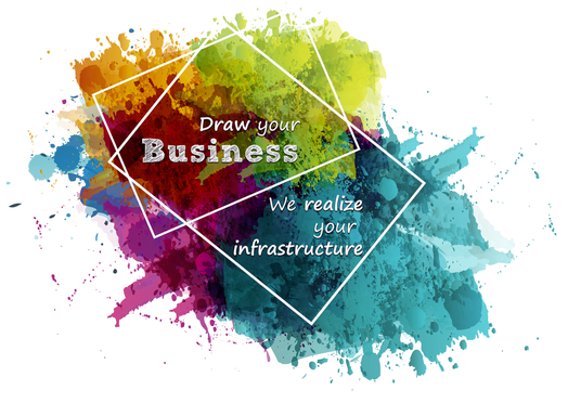 Draw your business, we realize your infrastructure