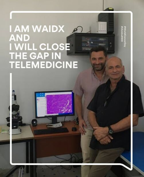 WorldCancerDay2020: I am WaidX and I Will Close the Gap in Telemedicine